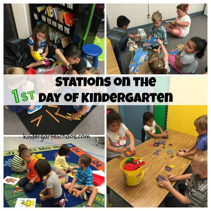 Everything you wanted to know about the First Day of Kindergarten. Kindergarten Chaos shares her 'real-life' first day schedule and includes tips and tricks