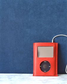 Suede iPod Case | Step-by-Step | DIY Craft How To's and Instructions| Martha Stewart