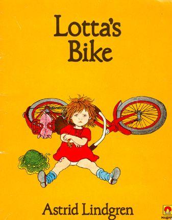 lotta's bike - astrid lindgren, ill. ilon wikland