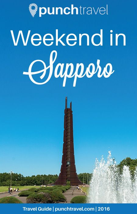 Weekend in Sapporo, Japan