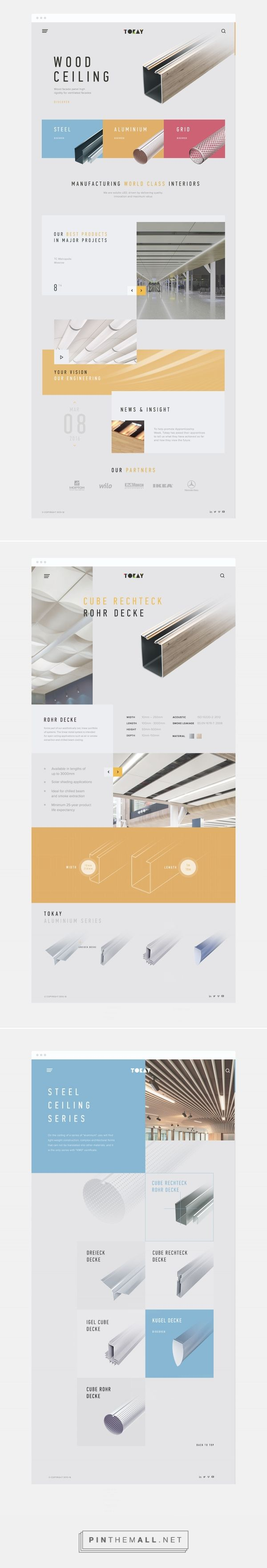 Tokay on Behance... - a grouped images picture - Pin Them All