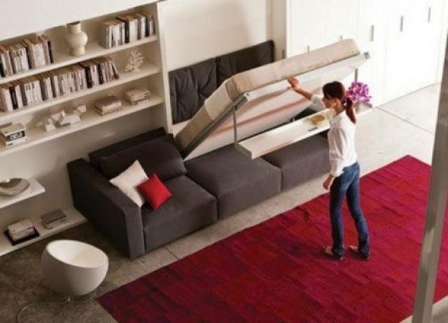 Camere nascoste, la soluzione migliore per guadagnare spazio nei piccoli appartamenti (fotogallery)