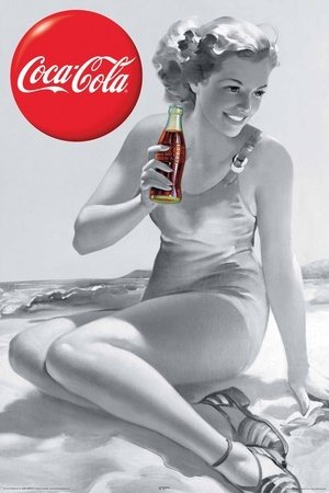 Summer great Coca Cola