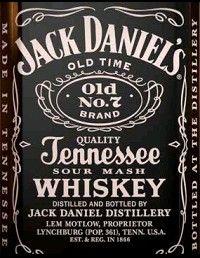 Jack Daniels Old No. 7 Black Label