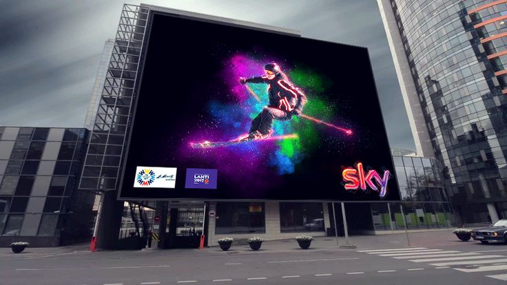 Sky Sport - Digital Art & Cinemagraph - Outdoor .NBA. - GIF