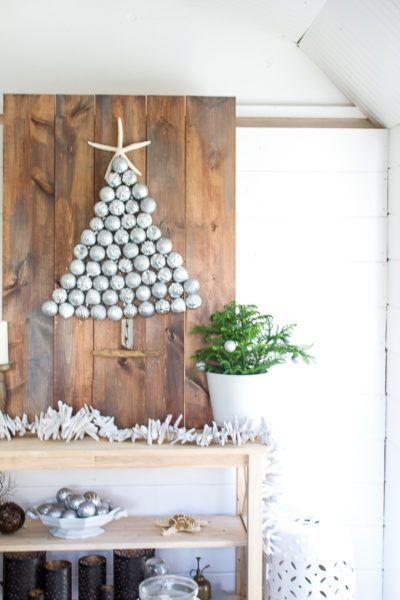 Simple Coastal Christmas #sponsored