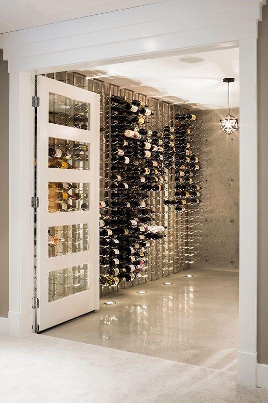desire to inspire - desiretoinspire.net - J+RKatz impressive contemporary residential wine cellar