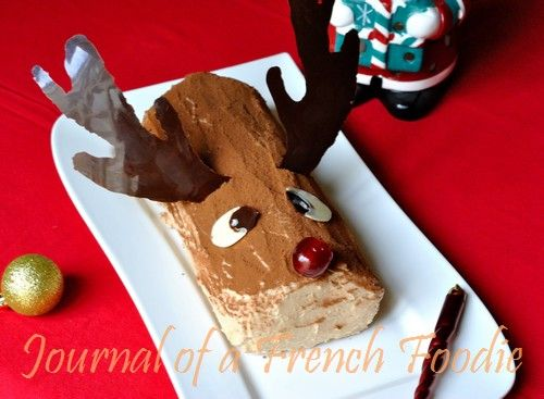 How cute is this #Thermomix Rudolph the Reindeer #Christmas log? #recipe - More #Thermomix gifting ideas at: http://www.superkitchenmachine.com/2012/17688/thermomix-gift-recipe.html