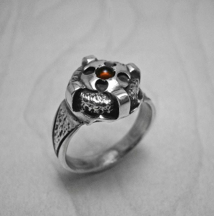 Excited to share the latest addition to my #etsy shop: Cross ring,crown ring,mens silver ring,crusader ring,knights templar ring,cross silver ring,medieval ring,citrine ring,silver crown ring http://etsy.me/2k5Mrmu #jewelry #ring #silver #no #yes #women #orange #citrine #patrioti