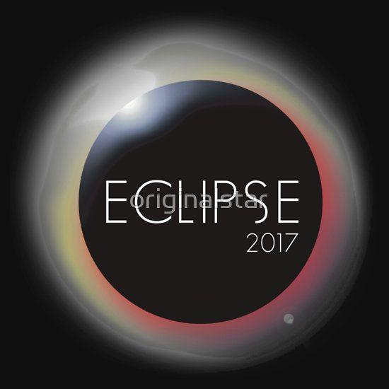 total solar Eclipse August 21 2017 amerika usa sci-fi astrology eventblack minimal T-shirt