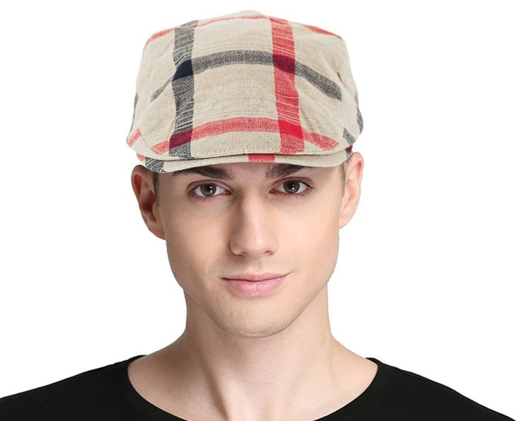 Bellady Women Mans Cotton Flat Cap Cabbie Hat Newsboy Hunting Hat