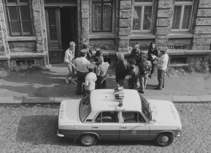 Simildenstraße 1988, Leipzig-Connewitz – #© Grüni* (www.flickr.com/photos/9409577@N06).