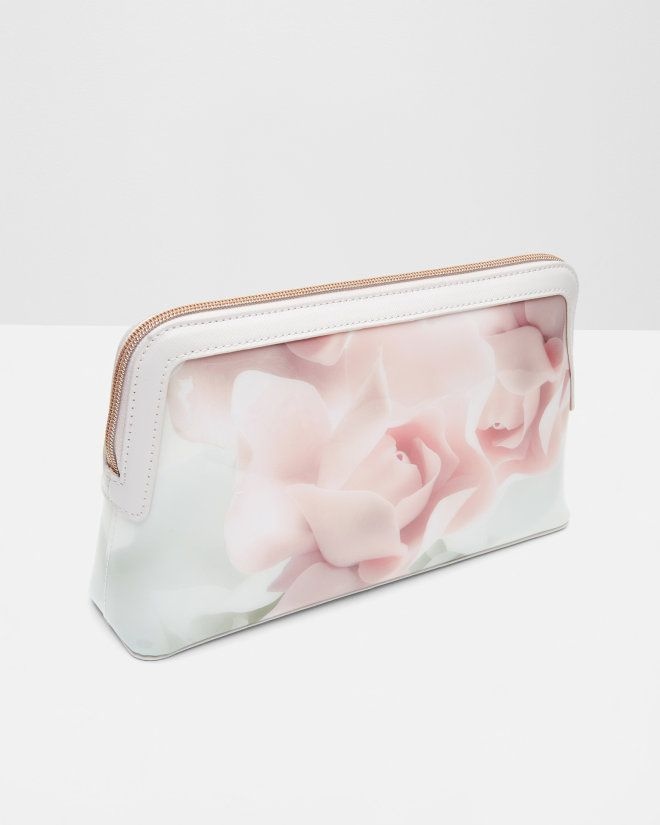 Porcelain Rose large wash bag - Nude Pink | Gifts for Her | Ted Baker