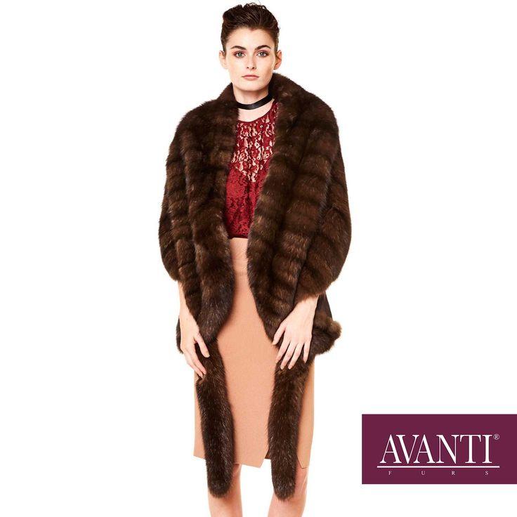 AVANTI FURS - MODEL: EDIEL SABLE ETOL  #avantifurs #fur #fashion #sable #luxury #musthave #мех #шуба #стиль #норка #зима #красота #мода #topfurexperts