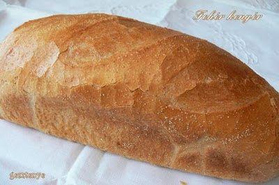 Gesztenye receptjei: Fehér kenyér és játék