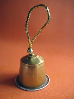 Accidentaccio: segnaposti per la tavola di Natale: campanelline