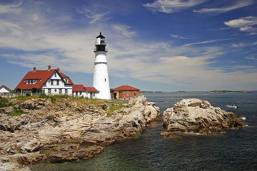 New England Coast: East Coast, Buckets Lists, New England,  Pharo,  Beacon Lights, Portland Maine, Places, Maine Lighthouses, Lights Houses