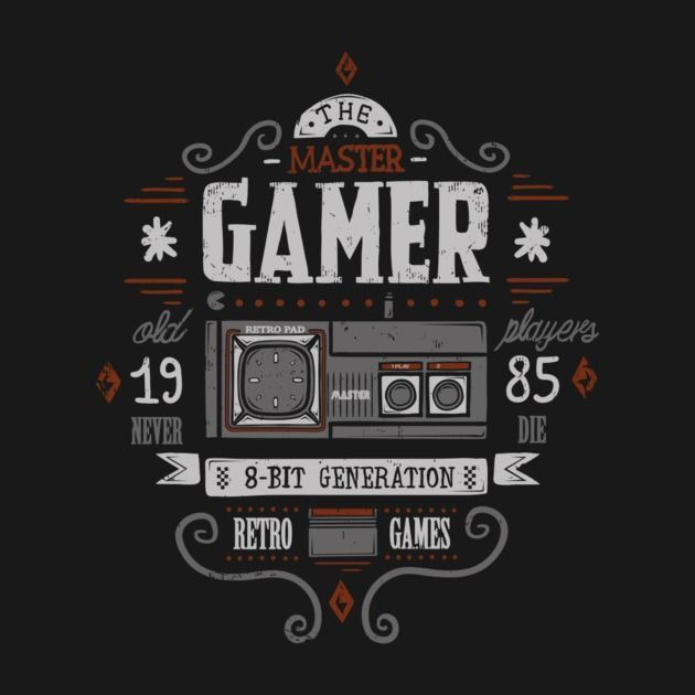 MASTER GAMER T-Shirt - Gamer T-Shirt is $12.99 today at Pop Up Tee!