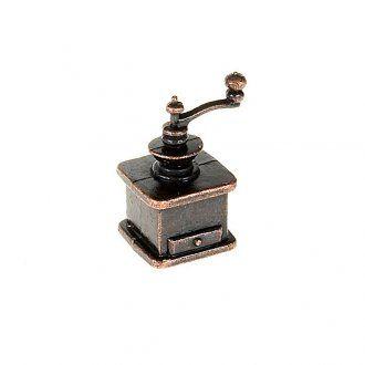 Macina caffè in metallo per presepe: miniature per presepe fai da te | vendita online su HOLYART