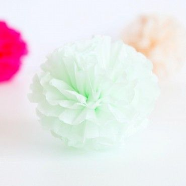59 best christening images on pinterest birthday party ideas quill london tissue paper pompom in mint green wedding decoration by quill london junglespirit Gallery