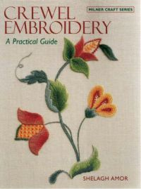The aim of this book is to give confidence to the novice embroiderer and to provide a design source for the more experienced embroiderer. As with all embroidery techniques, the working of crewel embroidery is meant to be an enjoyable pursuit. It is adaptable to a wide range of purposes such as fashion items, soft furnishings and wall hangings. This book demonstrates how surface stitches are used in crewel work and explains some rules which will help the embroiderer to achieve the best…