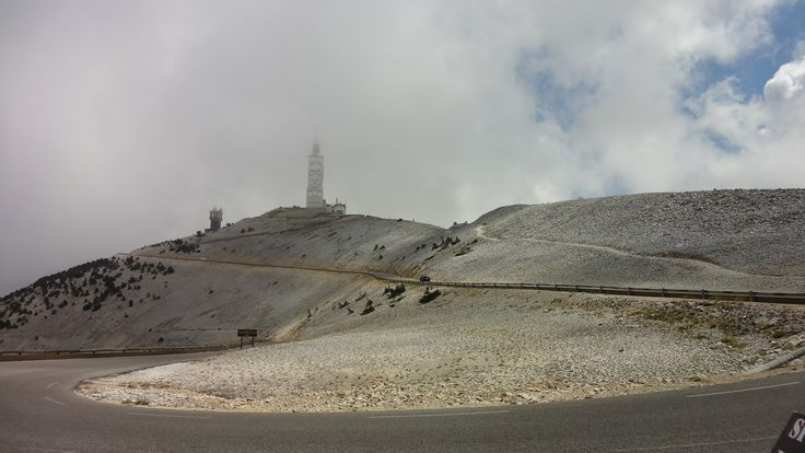 Mont Ventoux from the north (Malaucene)