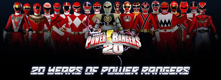 Mighty Morphin Power Rangers 20th Anniversary | Power Rangers 1993 ...
