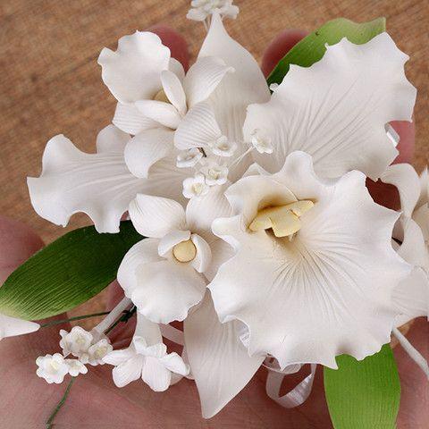 Tropical Cattleya Orchid Sprays   CaljavaOnline