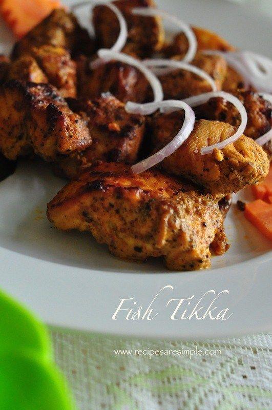 fish tikka recipe