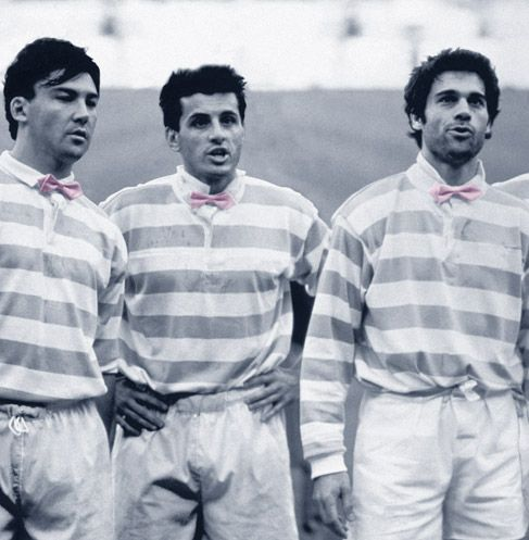 Show Biz Rugby - Racing Club de France - 1990
