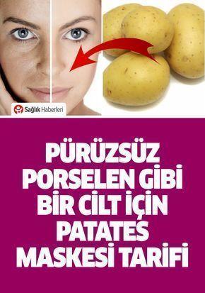 # Skincare Recipes Potato Mask for Smooth Skin - Gülsüm Kafadar # Skin Conditioner ...  -  Hautpflege-Rezepte