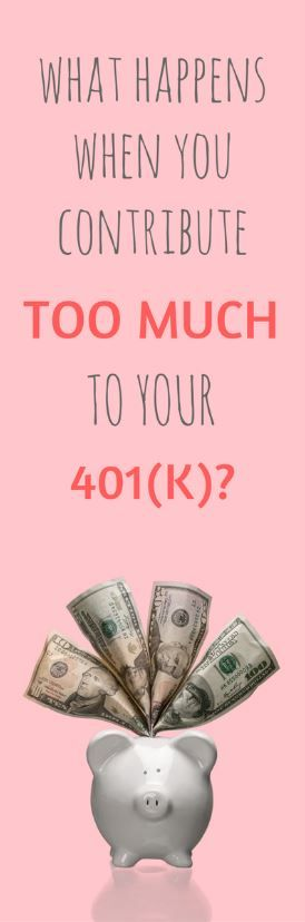 What If You Overcontribute to a 401(k) or IRA? - http://www.doughroller.net/retirement-planning/happens-contribute-401k/?utm_campaign=coschedule&utm_source=pinterest&utm_medium=Dough%20Roller&utm_content=What%20If%20You%20Overcontribute%20to%20a%20401%28k%29%20or%20IRA%3F