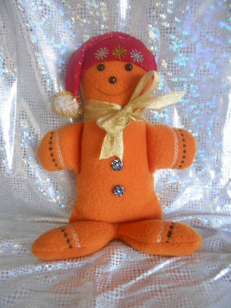 Gerry the Gingerbread man Christmas Decoration Doll