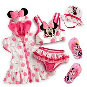 Disney Minnie Mouse Swim Collection for Baby | Disney Store...Kaitlyn needs this.