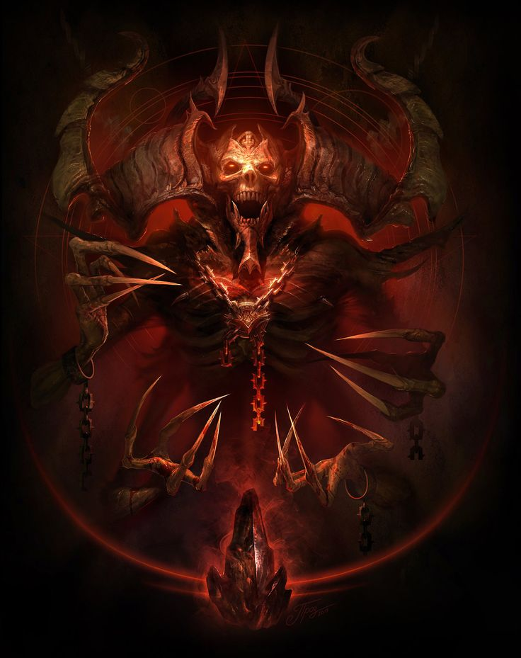 Mephisto - Lord of Hatred by TamplierPainter.deviantart.com on @DeviantArt