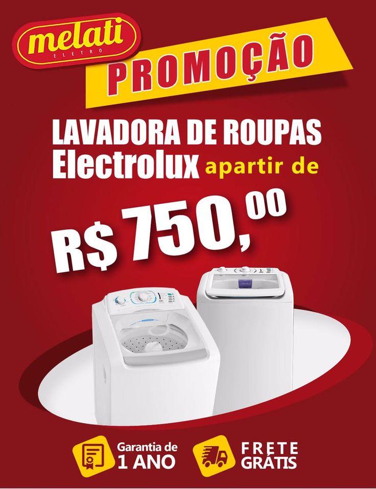 SALDÃO DE LAVADORA DE ROUPAS A PARTIR DE R$ 750,00 😱 ========================================== CLASSIFICAÇÃO DO PRODUTO SALDO => https://www.melatieletro.com.br/pagina/nossos-produtos.html  ==========================================  📌 ❶ A͟͟N͟͟O͟͟ D͟͟E͟͟ G͟͟A͟͟R͟͟A͟͟NT͟͟I͟͟A͟͟ CONTRA DEFEITO FUNCIONAL  ==========================================  🚛 F͟͟R͟͟E͟͟T͟͟E͟͟ G͟͟R͟͟A͟͟T͟͟I͟͟S͟͟ consulte as regras do frete grátis ==========================================  📍ENDEREÇO DA LOJA   RUA…