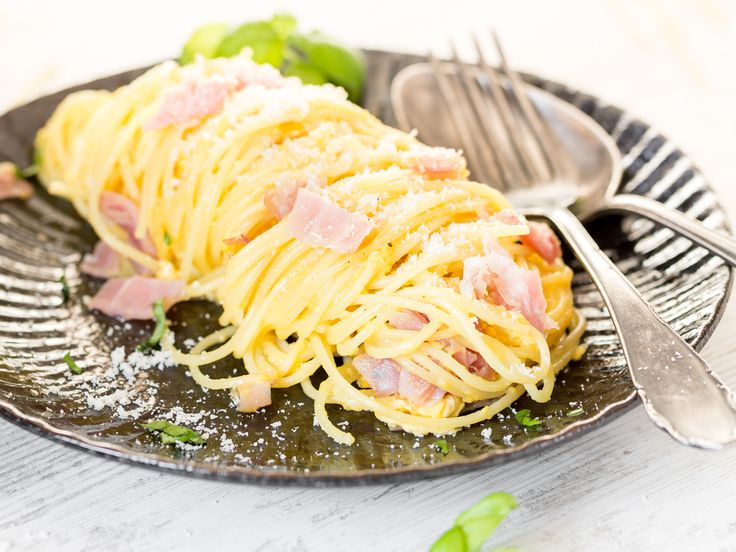 Die besten 25+ Pasta cabonara Ideen auf Pinterest Carbonara soße - original italienische k che