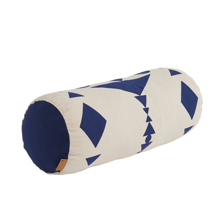 Cylinder Pillow in Blue design by OYOY