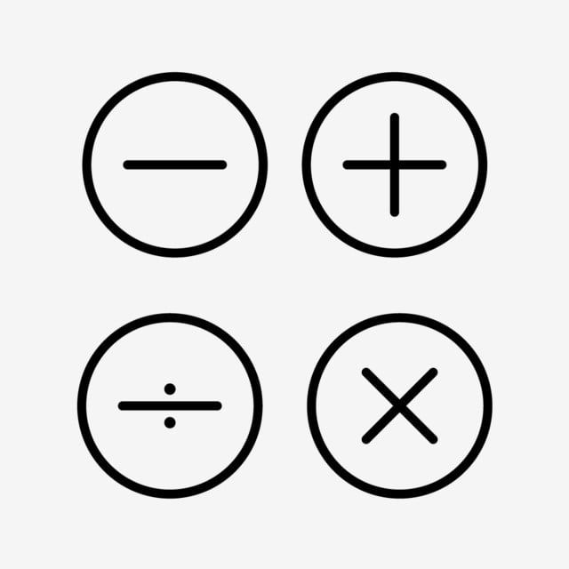Math Symbols Line Black Icon Line Icons Black Icons Math Icons Png And Vector With Transparent Background For Free Download App Icon Cute App Iphone Icon