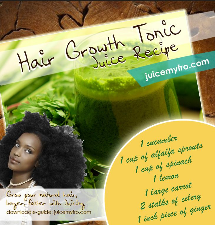 Green Smoothies Natural Hair Growth