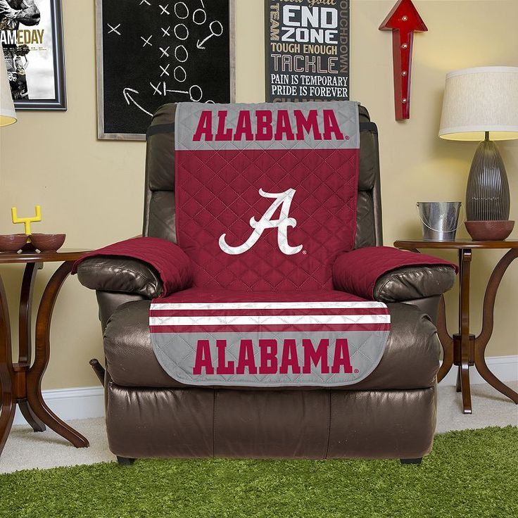 Alabama Crimson Tide Quilted Recliner Chair Cover Red & Best 25+ Recliner chair covers ideas on Pinterest | Lazyboy Lazy ... islam-shia.org