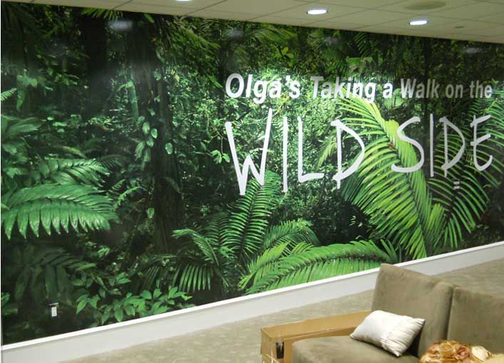 1042 best images about office wall graphics on pinterest for Environmental graphics wall mural