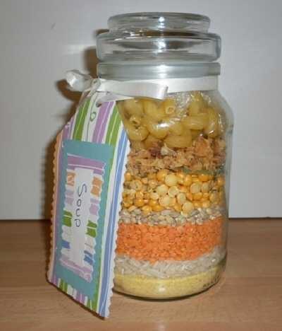 Lentel Soup in a Jar