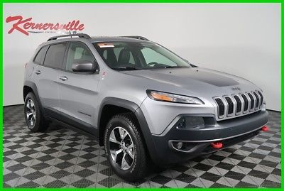 eBay: 2015 Jeep Cherokee Trailhawk 4WD V6 SUV Sunroof Navigation Leather Backup Camera 25198 Miles 2015 Jeep Cherokee… #jeep #jeeplife