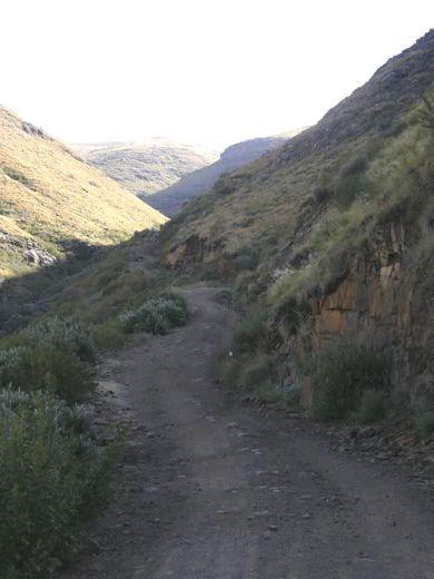 Volunteershoek Pass          South Africa