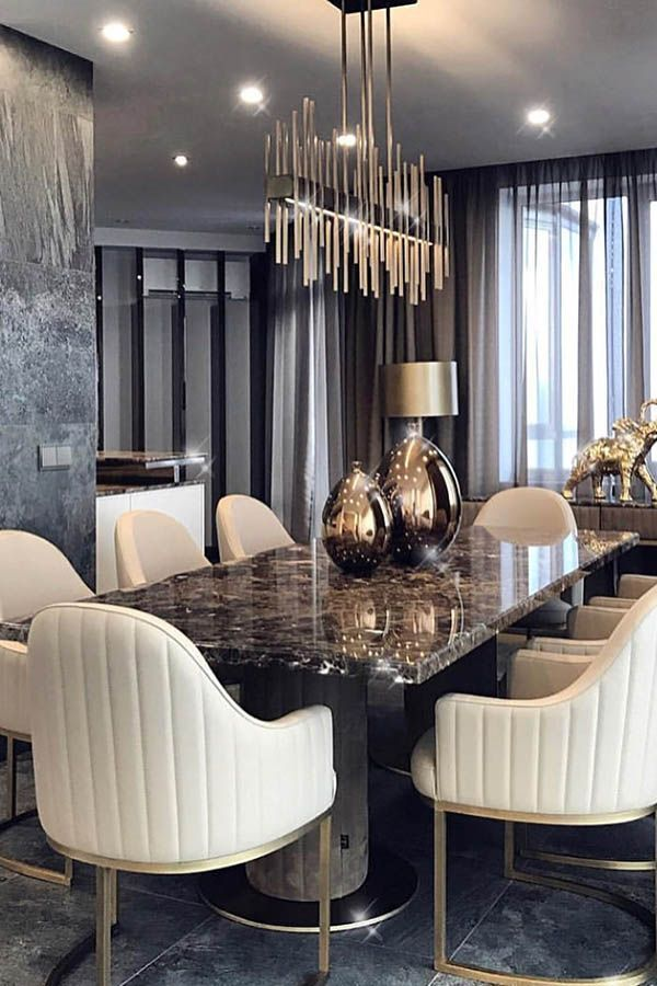 Luxury Dining Room Furniture: Constantine Frolov Interior Designer
