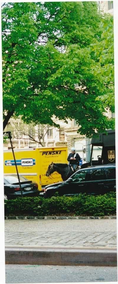 Une photo, deux moyens de transport