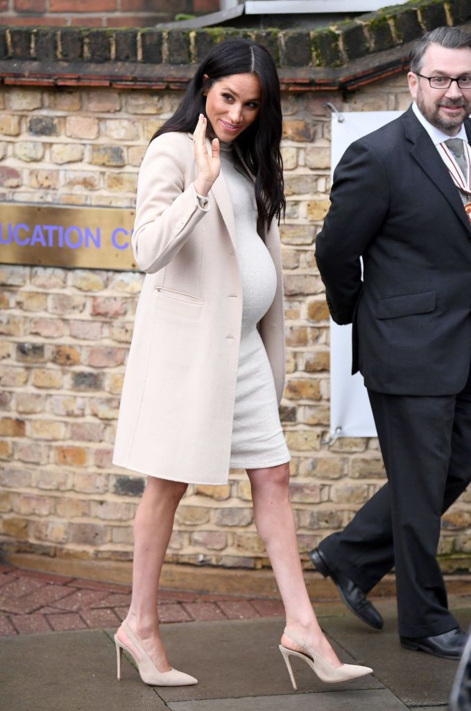0837fcf1a79a1 Animal Rescue · London · LONDON, ENGLAND - JANUARY 16: Meghan, Duchess Of  Sussex departs after visiting Mayhew