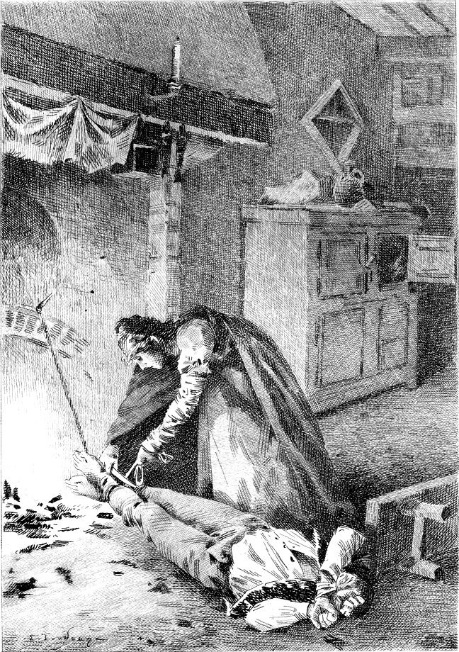 Balzac - 'The Chouans', Édouard Toudouze