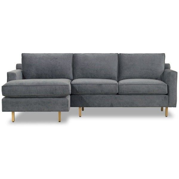 Mitchell Gold Bob Williams Hunter Studio Sectional ($4,140) ❤ Liked On  Polyvore Featuring Home